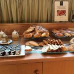 Breakfast: A selection of pastries