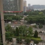 Sofitel Wanda gym window view