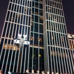 Sofitel Wanda building night view