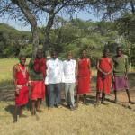 Staff at Mara camp