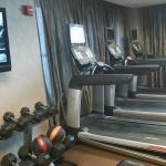 Half of the exercise room
