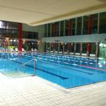 The half olympic lenght pool