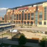 View From Room of Lucas Oil