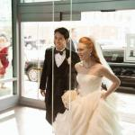 Bride & Groom Arrival at Hotel