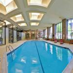 Large Indoor, Heated Pool with Plenty of Seating Space
