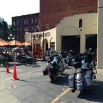Lee Street Station during Sturgis rally