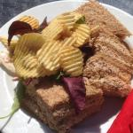 Great food and deals in ventana gorgeous sea views ... Great fresh made sandwiches by the poolsi