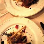 Dinner at Los Arcos restaurant (main course)