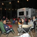 Family time at Tahoe Valley Campground