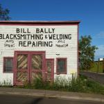 Bill Bally Blacksmithing and Whole Foods, Historic and Contemporary Grand Marais, Minnesota
