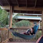 Every room has a balcony overlooking ocean-with hammock!