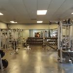 Excercise and weight room
