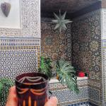 Beautiful mosaics everywhere you look. The Riad is a piece of art in itself.