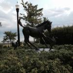 Misty of Chincoteague statue on Main Street.