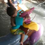 Waterpark fun