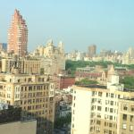 View from the room toward Central Park