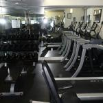 Small Fitness Center - no weight machines, only a few dumb bells