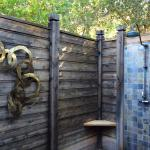 Love this outdoor shower! So refreshing!