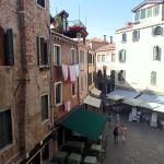 View from our window. Very authentic Venetian neighborhood.