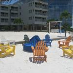 Sailport Waterfront Suites, Beach area (only for hanging out, no swimming)