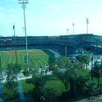 Victory AAA ball field from room window