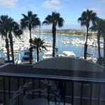 looking out our balcony in 526