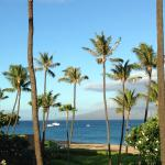 The 3rd floor view from Molokai wing.