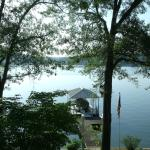 Boat dock on the lake.