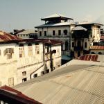 Stonetown rooftops from the Zanzibar Coffee house terrace