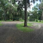 Airboat loading area
