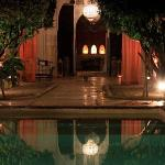 Riad Charai at night