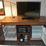Microwave and refrigerator in all guest rooms