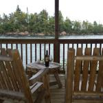 View from Fish House Deck