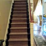 Front steps to upstairs rooms