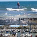 Le port de Carnon et plage Le Grand Travers