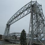 the lift bridge