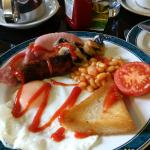 Indulgent cooked breakfast everyday of my stay!