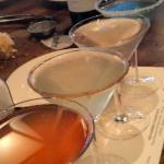Martini sampler - a must try