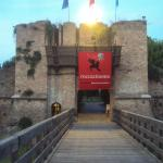 Entrance of the castle 500 meters away from I Cherubini Hotel, Ravenna