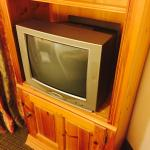Old TV's and even older furniture