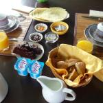 Delicious breakfast - gave us plenty of energy to explore Marrakech by foot!