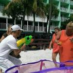 Fun activities on the beach to win free drinks