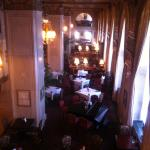 Lounge was beautiful, but extremely noisy from an upstairs wedding.