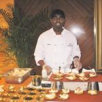 Friendly Chocolatier Chef at Christmas