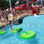 Fun in the water park