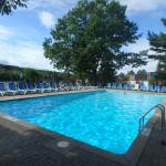 One of the 3 outdoor pools
