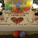 Hotel's birthday/anniversary decoations