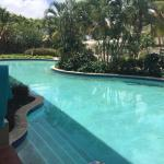 The Swim-up pool at Sandals Grande St. Lucian