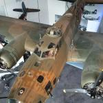 Looking down on the B-17