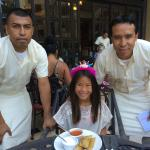 Ernesto and Santiago surprised my daughter w/ Tamales which was NOT in the menu.